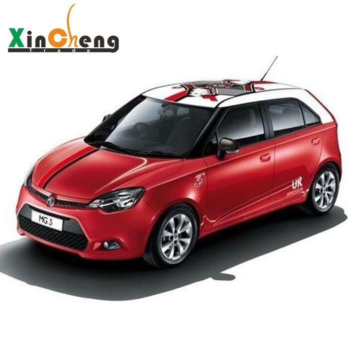 Carrosserie voiture-stcouché Pull fleurs guirlande Poker boîte Q voiture autocollants pour MG3