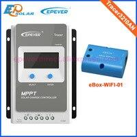 Tracer 3210an 30A MPPT Контроллер заряда 12 В 24 В ЖК дисплей epever регулятор mt50 WI FI Bluetooth PC Связь Mobile приложение