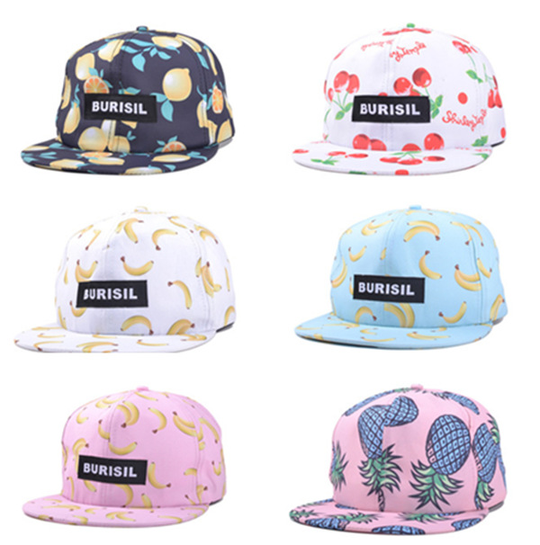 hat snapback caps gorras casquette hats patch letters fruit banana pattern  hip hop baseball cap cute for men and women ZZ65-in Baseball Caps from  Apparel ... 736552aeea3