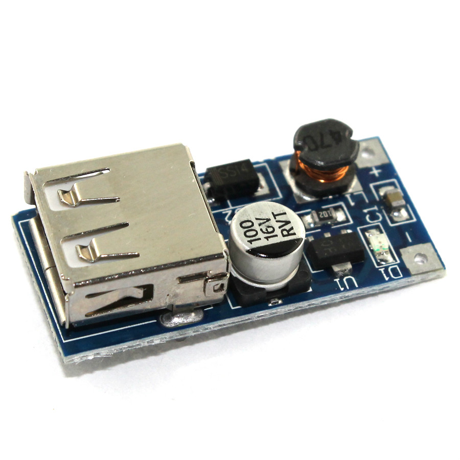 Boost Mc34063 Stepdown Dc Converter Mc34063a Circuit Step Down 25 50