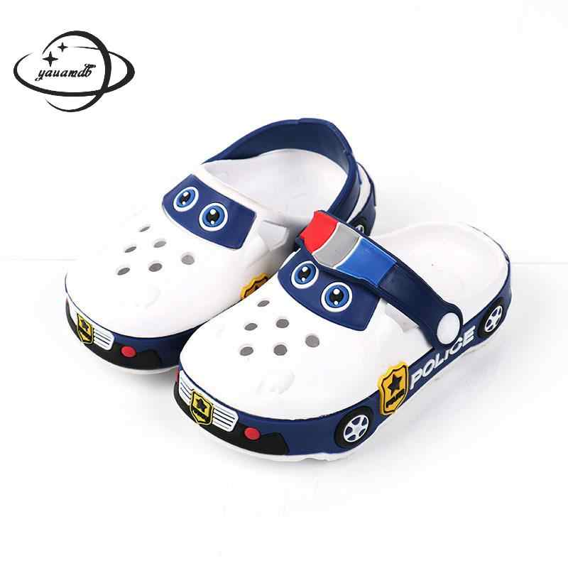 862e883a99f2f0 Detail Feedback Questions about YAUAMDB kids mules and clogs shoes 2017  spring autumn girls boys EVA children shoe cartoon car non slip fashion  garden shoes ...