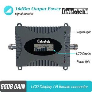 Image 3 - מיני 4 גרם LTE 1800 mhz נייד אותות בוסטרים DCS 1800 להקת 3 מהדר סלולארי LCD תצוגת מגבר יאגי אנטנה + 13 m RG6 סט #4