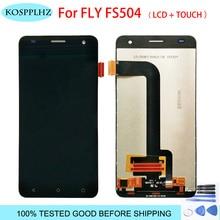 Оригинальное качество для Fly FS504 Cirrus 2 ЖК-дисплей и сенсорный экран дигитайзер сборка 5,0 дюймов телефон fly fs 504 ЖК-дисплей с инструментами