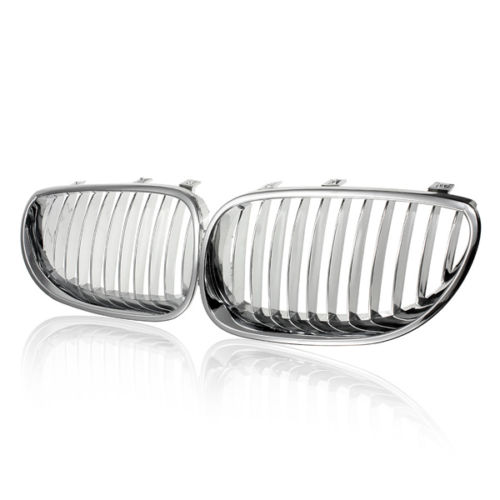 chrome front kidney grill grille for bmw e60 e61 m5 528 550 535 525