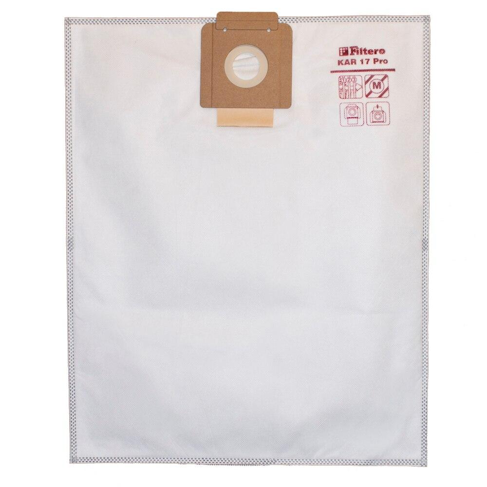 Set of dust bags Filtero KAR 17 Pro 5 pcs (20 L) 4 pcs tassel bags set