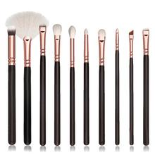 Beauty Girl 10 pcs New Fashion Cosmetic Makeup Brush Sets Kits Tools Oct 20