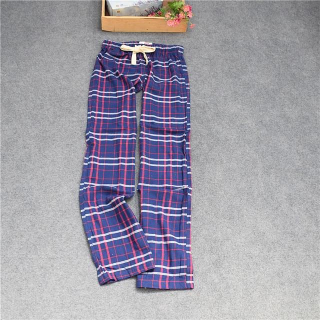Pants For Men Cotton woven velveteen Sanding Pants Men Couple's Lounge Sleep Bottoms trousers