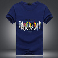 #327 Fashion Men Brand T shirt Funny Russian Letter No Women Print Summer Hipster Tops Tees