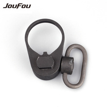 JouFou Hunting Accessories Tactical Rifle Push Button Lightweight Quick Detach Multifunction Sling Swivel Mount for M4 Series