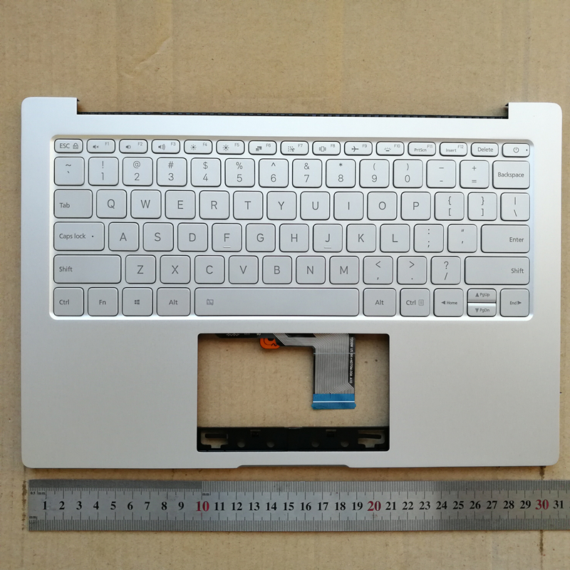 США подсветкой Новая Клавиатура ноутбука с тачпадом для Xiaomi Air 13,3 Щепка