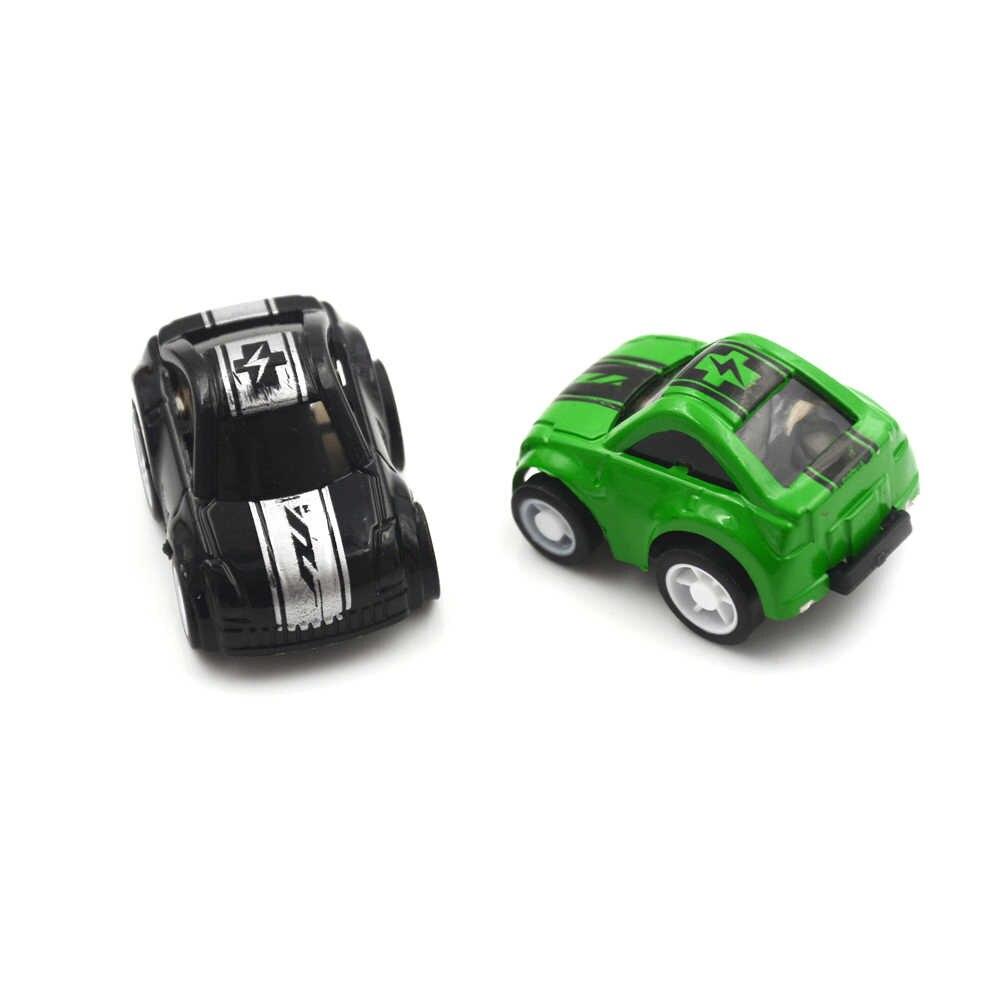 1pcs מיני מכונית תינוק צעצועי רכב לילדים של צעצוע עוגת קישוט סגנון אקראי שיער diecast דגם רכב צעצוע בני מתנות