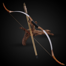 цена на Toparchery 25/30/35/40/45/50 lbs Traditional Recurve Long Bow Horsebow Handmade Laminated Wooden Ourdoor Sports Hunting Shooting