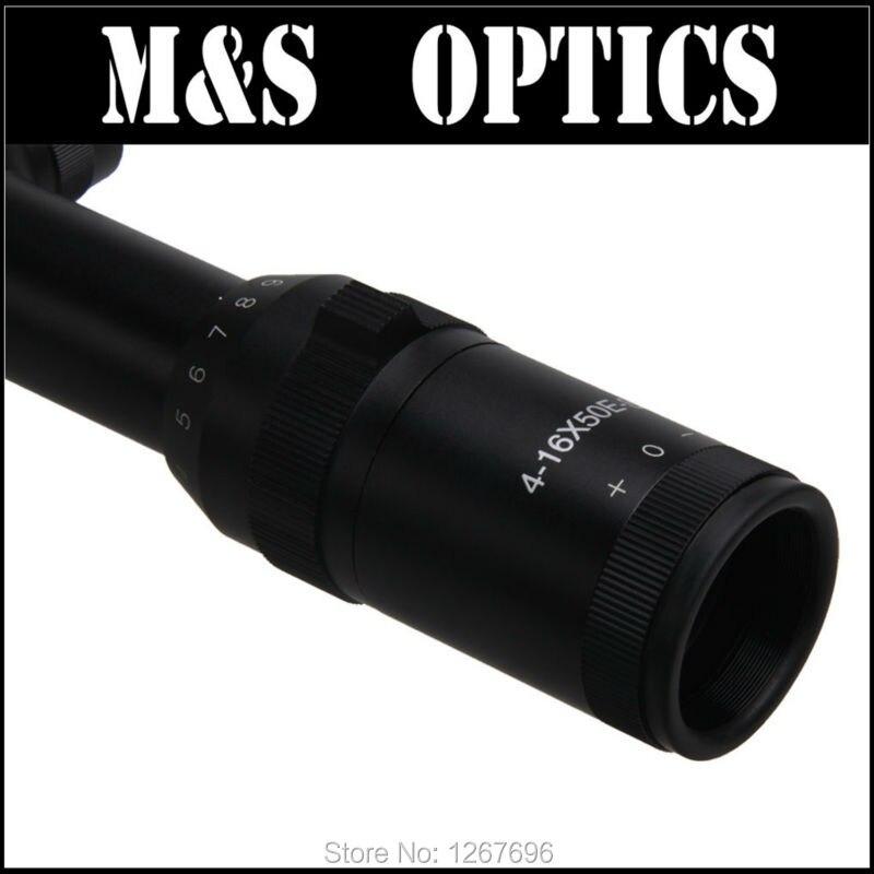 4-16X50 E FFP 1 HAGA CLIC EN 1/8 MOA Mira de rifle Vista de mira - Caza - foto 3