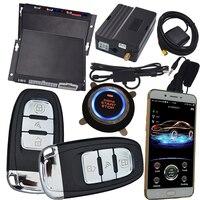 Приложение start stop кнопочная кнопка start remote start gps/gsm трекер gsm Автомобильная сигнализация