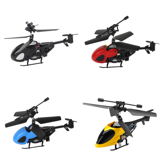 Semi-micro Toy Remote Control Helicopter 2.5CH Shatter Resistant RC Quadcopter IR Control Helicopter Toy