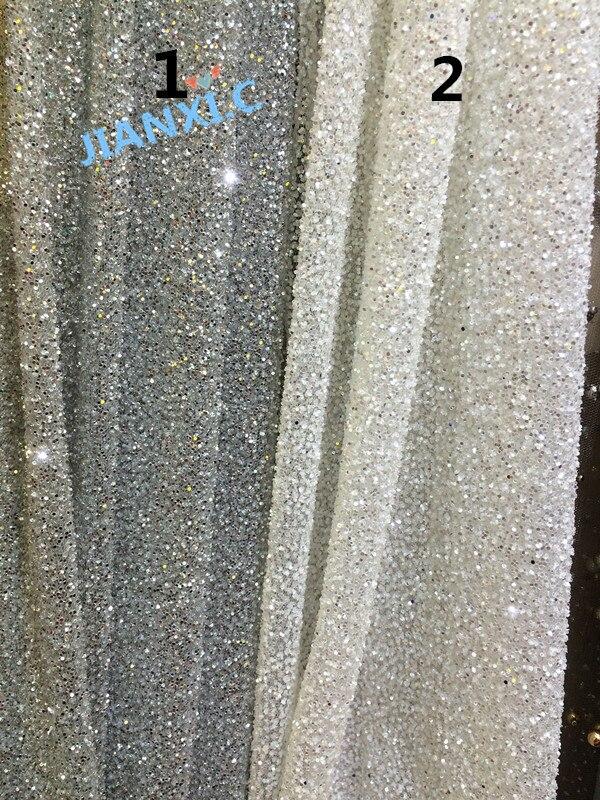 Tela de encaje nigeriano francés único CiCi 112904 tela de encaje africano de tul con brillo de alta calidad-in Tela from Hogar y Mascotas    1