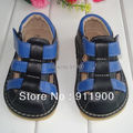 Free Shipping First Walker Toddlers Baby and kids sandals Boy Squeaky sandals  0-3Y