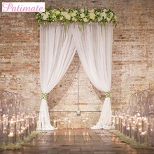 hot deal buy patimate 100 yards curtains tulle roll wedding backdrop wedding decor 15cm birthday party curtains and tulle roll spool for tutu