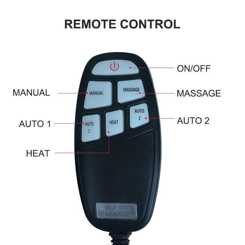 Jinkairui Electric Lumbar Traction Device Waist Back Massager Vibration Massage Lumbar Spine Support Waist Relieve waist fatigue