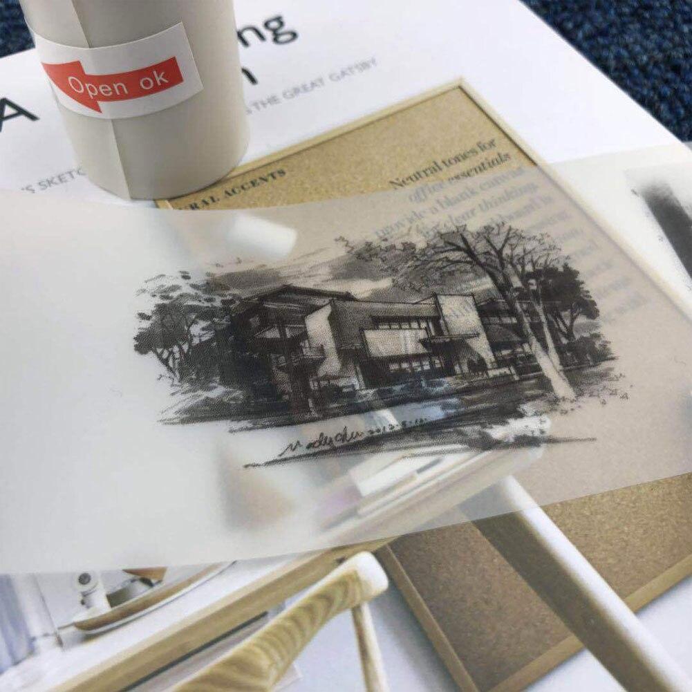 Горячее предложение Новая бумага ang термобумага 57x30 мм полупрозрачная термобумага для бумаги ang фотопринтер