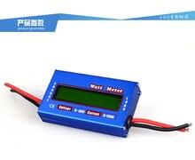 Синий DC 60 В 100A баланс Напряжение Батарея Мощность анализатор RC Ватт метр Checker профессиональная Ватт метр балансировки Зарядное устройство RC инструменты