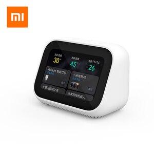Image 2 - オリジナル Xiaomi 愛顔タッチスクリーン Bluetooth 5.0 スピーカーデジタル表示アラーム時計無線 Lan スマート接続 vedio のドアベル