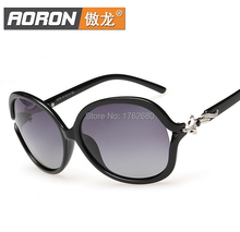 Free shipping high quality new fashion lady gradient polarized sunglasses polarizer A259