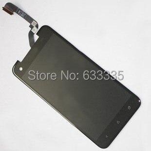 2 шт. ЖК-Дисплей С Сенсорным Экраном Дигитайзер Ассамблеи Для HTC Большая Бабочка X920d передняя внешний стеклянный объектив черный