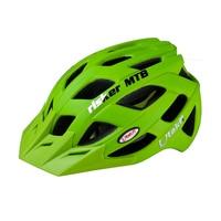 Utakfi Bike Helm Vizier PC + EPS Fietshelm Mannen Integraal gevormde Road Fietsen Beschermende Helmen MTB Casco Bicicleta groen
