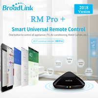 2018 Broadlink RM Pro WIFI IR RF Universal Intelligent Remote Control Switch For Iphone IOS Android