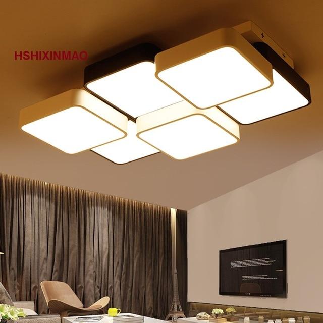 Nuovo Cubo LED Rettangolare Soggiorno Plafoniera Camera Da Letto ...