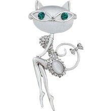 Cat Lady Brooch