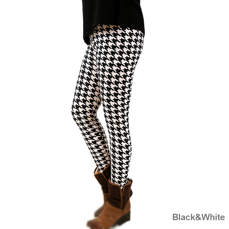 D7fashion dámské dna kalhoty elastické kalhoty pohodlné plus legíny tisk doprava zdarma s-xxxxxl