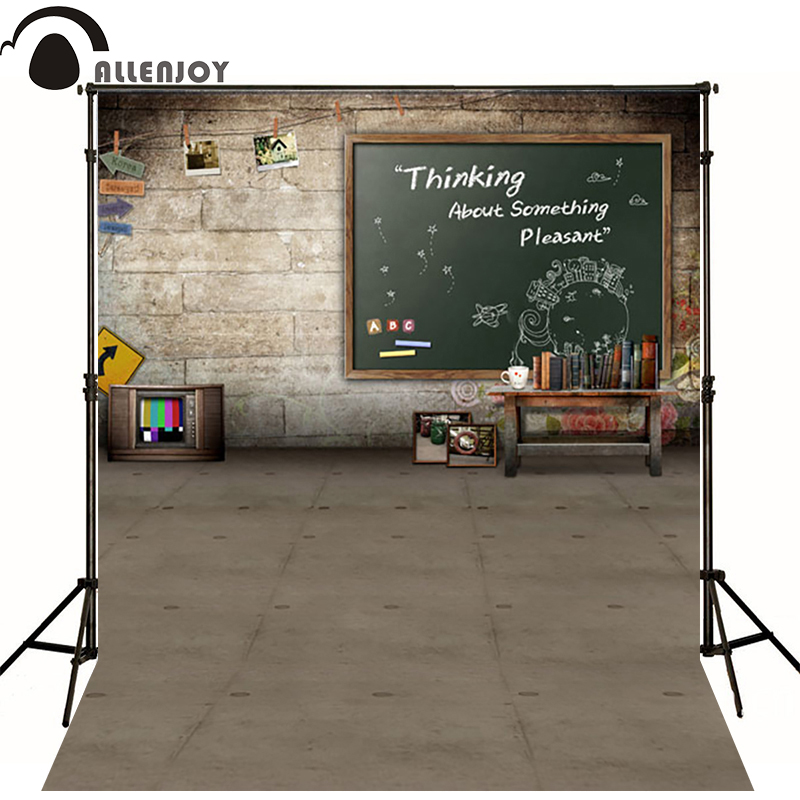 10*20feet(300*600CM) Photography Background Blackboard books Photo fundos fotograficos Free Shipping