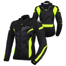 Motorcycle Cycling Jacket Breathable Racing Jackets Women Motocross Protective Jersey Moto Blouson Femme
