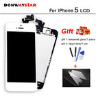 For iPhone 5 5S 6 Plus 6S LCD Display Full Assembly Touch Screen Digitizer With Front Camera+Home Button+Tools+Tempered Film