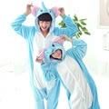 Elephant Onesie Adult Winter Flannel Kawaii Anime Sleepwear Hoodie Pyjamas Halloween Carnival Costumes