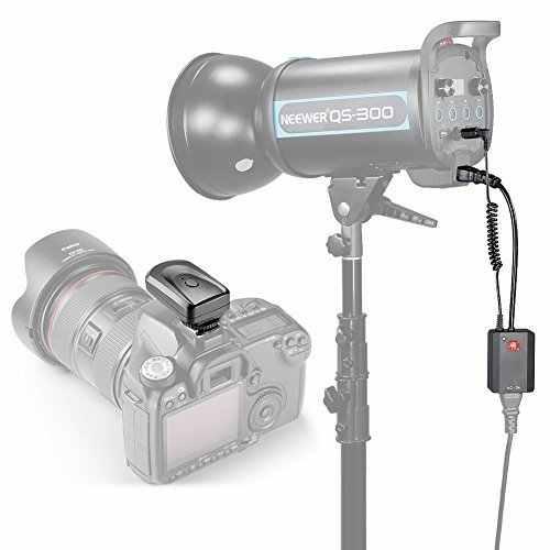 Neewer AC-04 Набор 4 Канала Беспроводной Триггера Студийной Вспышки с Приемником для Canon/Nikon/Pentax/Godox/Olympus Strobe