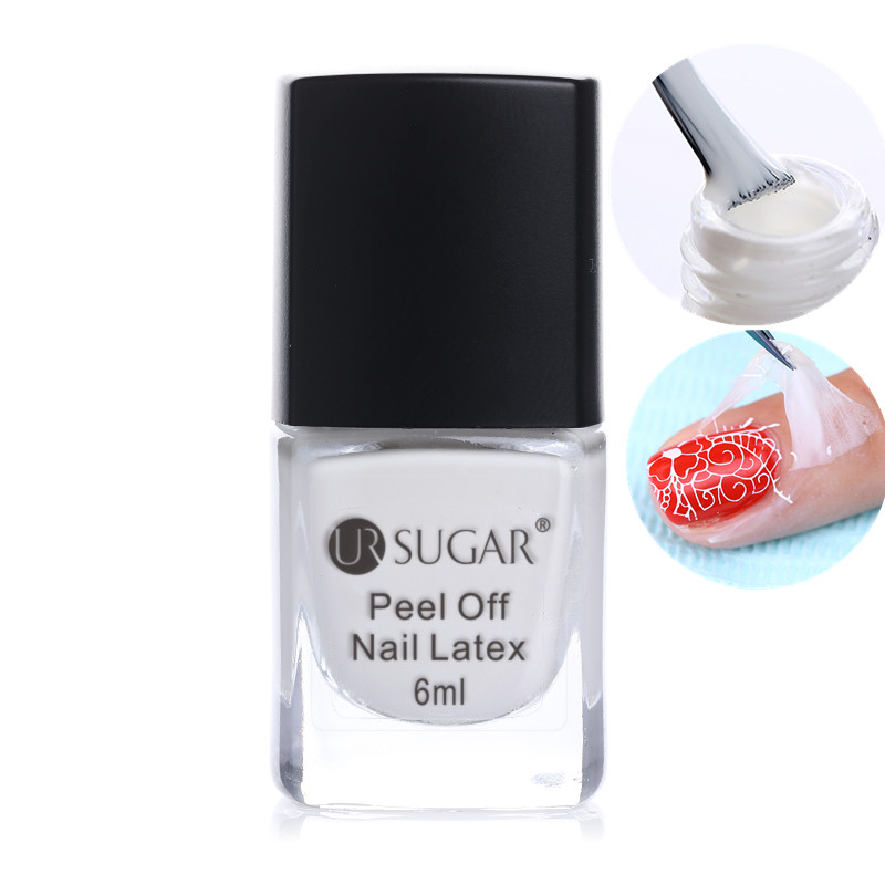 Online Shop UR SUGAR Easy Clean White Peel Off Liquid Tape Base Coat ...