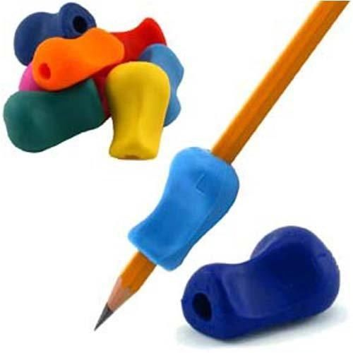 8pc Pencil Grips Occupational Therapy Handwriting Aid Kids Children student School Stationery Pen Control Right Silicone Writing