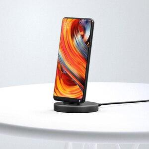 Image 2 - 2018 Xiaomi Panki اللاسلكية الهاتف حامل شاحن نوع C النسخة لسامسونج هواوي هاتف أندرويد ذكي 18 واط سريع شحن E21