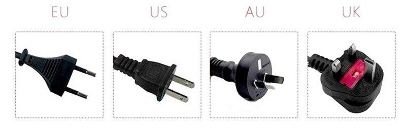 Limpadores de 2017 secador de Cabelo Profissional Com Preto Cor Vermelha DA UE EUA UA UK Plug dropshipping link