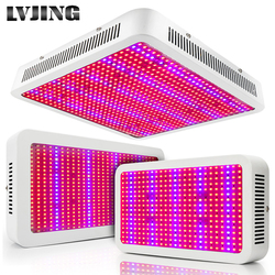 الطيف الكامل 300 واط 400 واط 600 واط 800 واط 1000 واط LED تنمو ضوء أحمر أزرق UV الأشعة تحت الحمراء Led النباتات مصباح ل زهرة النبات الزراعة المائية Growbox خيم...