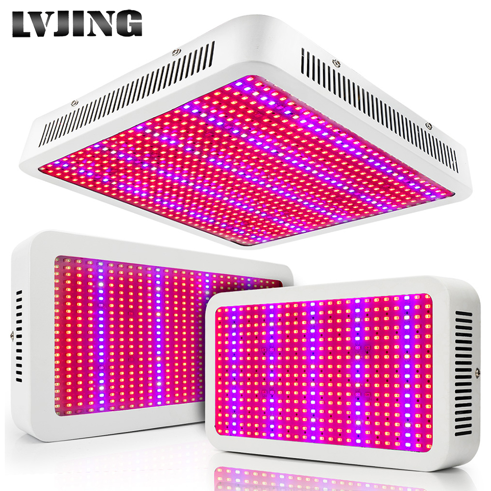 Espectro completo 400W 600W 800W LED Grow Light Red Blue White UV IR SMD5730 Led Lámpara de planta Mejor para crecer y florecer al por mayor