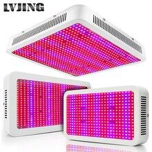 Lámpara LED de espectro completo para cultivo de plantas, luz Led de cultivo de 300W, 400W, 600W, 800W, 1000W, luz roja, azul, UV IR, para tienda de cultivo de flores, plantas hidropónicas