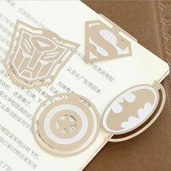 Die Originalität Der Superhero League Lesezeichen Lesezeichen Exquisite Geschenk Bürobedarf
