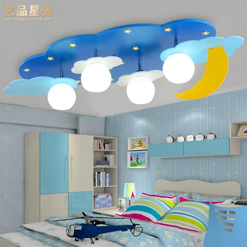 Art Star Moon And Light Children Bedroom Lamp Cartoon Boys S Room