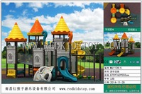 Exported to Russia EN1176 Big Park Equipment CE Approved Children Outdoor Playground M 61128