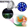 RAYWAY Full Spectrum Led Aquarium Lamp E27 white 6500K blue 460nm PAR38 LED Coral Reef Grow Light High Power Fish Tank  LED Bulb