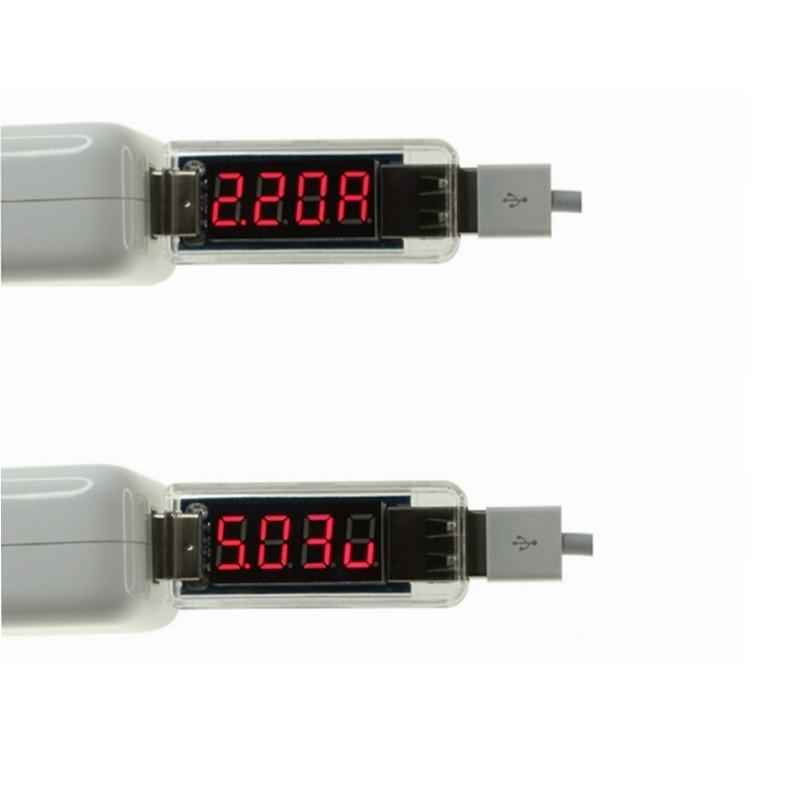 Mini Digital USB Phone Charger DC Voltage Current Tester Voltmeter Ammeter For Phone Tablet Charging Detector